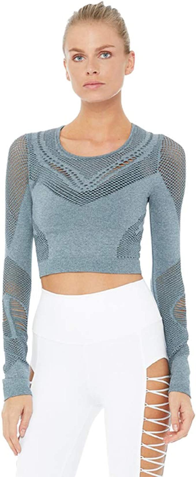 Amazon.com: Alo Yoga Womens Siren Long Sleeve: Clothing