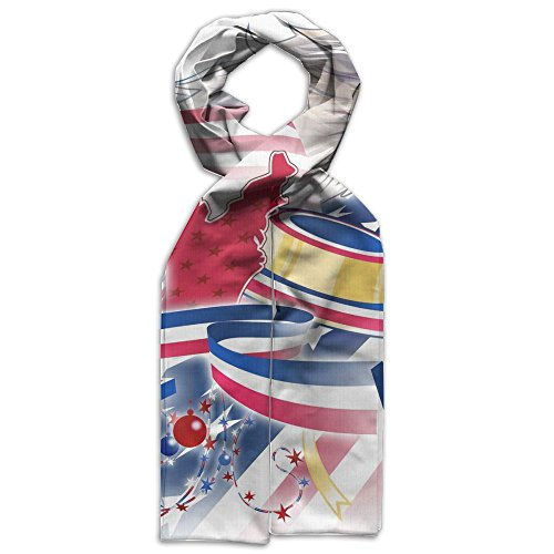 Price comparison product image American Happy Independence Day Scarves Softness Warm For Children Gift