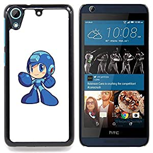 "Qstar Arte & diseño plástico duro Fundas Cover Cubre Hard Case Cover para HTC Desire 626 (Metr0id héroe"")"