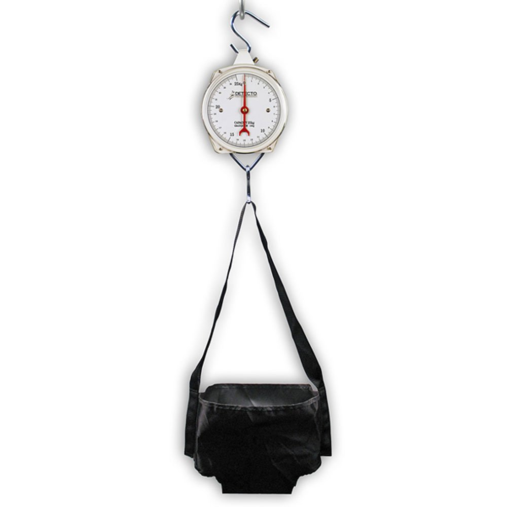 Detecto Mechanical Hanging Baby Scale Single Dial - Detecto HS25KGP