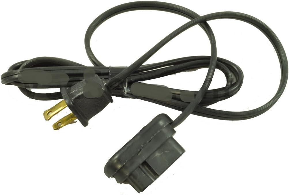 Máquina de coser Necchi cable de 3 pin enchufe: Amazon.es: Hogar