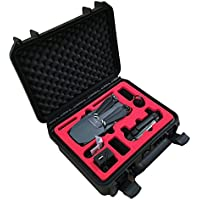 Professional Carrying Case for DJI Mavic - Case with space for 3 batteries and more accessories (Compact Edition) by MC-CASES