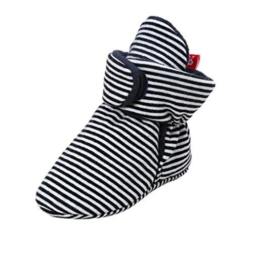 Hunpta Baby Soft Sole Snow Stiefel Soft Crib Schuhe Kleinkind Stiefel Schwarz