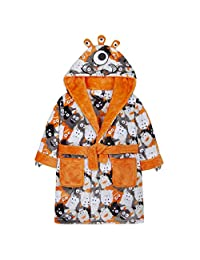 MiniKidz Boys Monster Design Dressing Gown