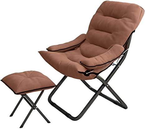 Amazon Com Erwazi Butterfly Chair Lounge Chair Reading Chair Chair And Ottoman Set Bean Bag Chair For Adults Chaise Lounge Indoor Sofa Chair Floor Couch Sleeper Chair Folding 3 Position With Bench Kitchen