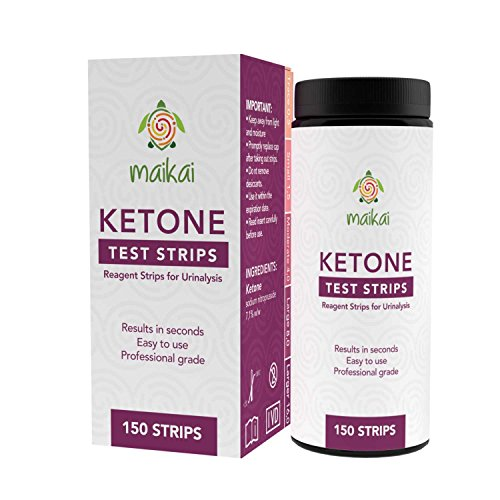 Ketone Testing Strips for Ketosis, Diabetics, Paleo, Low Car