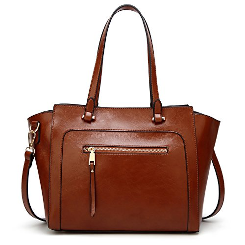 Women Top COCIFER Satchel Bag Shoulder Bag Top Purse Dark Tote Brown 111 Messenger Handle Handbags dTU0qT