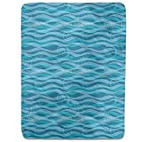 Triton Aqua Fitted Sheet: King Luxury Microfiber, Soft, Breathable