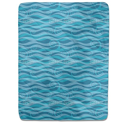 Triton Aqua Fitted Sheet: King Luxury Microfiber, Soft, Breathable by uneekee
