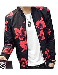 CFD Mens Fashion Printed Baseball Bomber Jacket