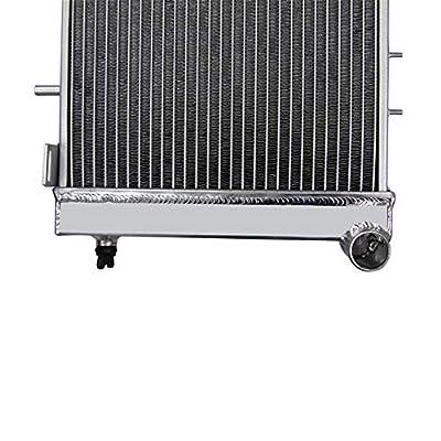 OzCoolingParts 84-01 Jeep Radiator, Full Aluminum Radiator for 1984-2001 1985 1986 1987 88 89 90 Jeep Cherokee XJ, 1991-1992 Jeep Comanche, 2.5L 4.0L: Automotive