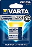 Varta CR 123 A Photo al litio 1600 mAh, confezione da 2