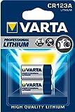 VARTA Litio - Pack de 2 Pilas CR123A (Litio, 3V, 1480 mAh)