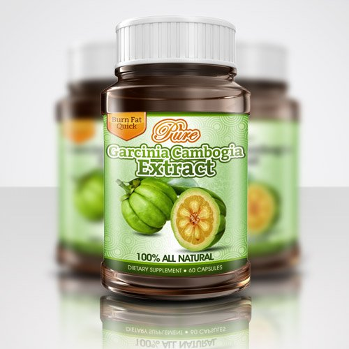 100% Pure Garcinia Cambogia HCA 500mg 60% (60 Bouteilles Capsule) (3 mois d'approvisionnement)