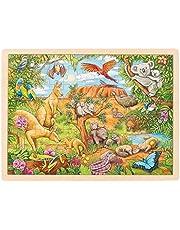 GOKI - Puzzel Australische dieren, puzzel, meerkleurig (57441)