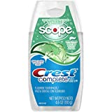 Crest Complete Multi-Benefit Whitening Minty Fresh Flavor Liquid Gel Toothpaste 4.6 Oz