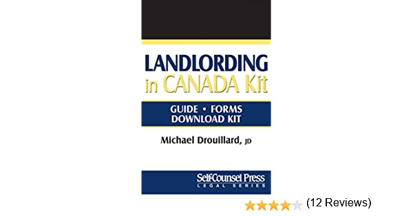Landlording in Canada (Legal Series)