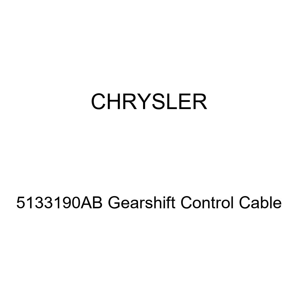 Genuine Chrysler 5133190AB Gearshift Control Cable
