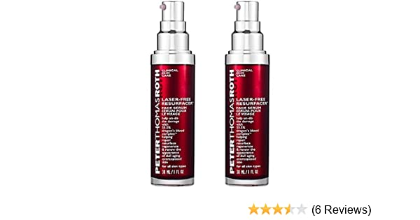 Amazon.com: Peter Thomas Roth Laser Free Resurfacer Face Serum 1.0 fl.oz/ 30 ml (PACK OF 2): Beauty