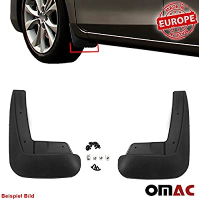 Mud Flaps Molded Splash Guard Protect Front Rear Left Right 4-Pieces Set