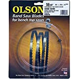 """Olson Saw 55756 Bench Top Band Saw Blade, 14 TPI, 1/4"""" x 56-1/8"""""""
