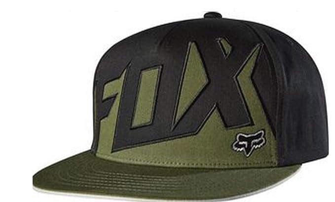 Gorra Fox Racing: Projector Snapback BK/GN: Amazon.es: Ropa y ...