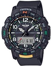 CASIO Pro TREK PRT-B50-1ER Watch Men Anthracite/Silver 2019 hartslagmeter