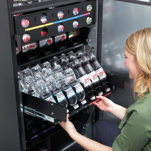 Trimline II Combo Snack & Cold Drink Vending Machine by All Brands Vending Resource