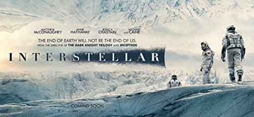 Interstellar 2014 Movie poster family silk wall print 28 inch x 13 inch