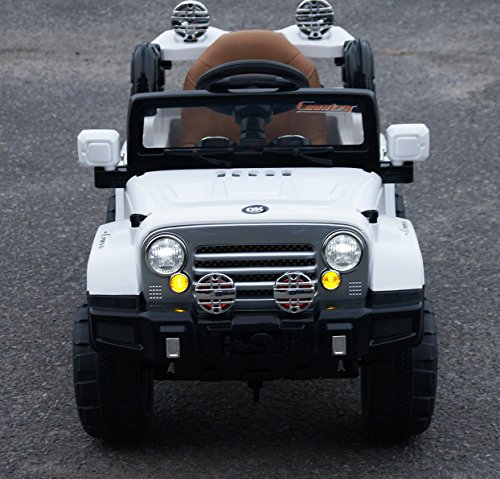 For Boys Toy Cars To Ride In : Exclusive ride on car v jeep wrangler style toy for kids