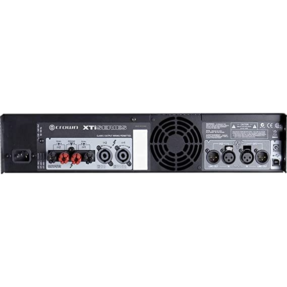 Amazon.com: Crown XTI 4002 Series 2 Channel 1600W Stereo Amplifier (Pair): Home Audio & Theater