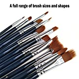 iMustech Paint Brush Set with Painting Knife Great