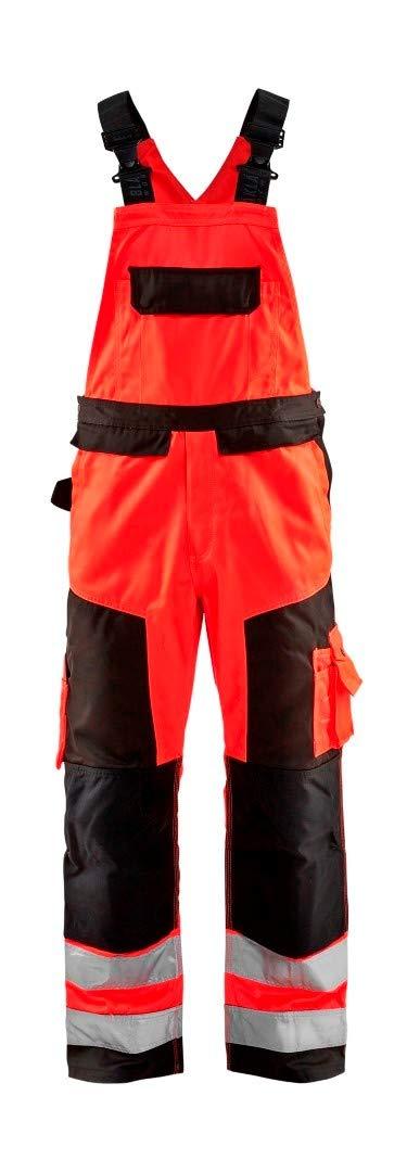 441daf26bdb blakläder 266018045599d124 LeiKaTex - de Peto reflectante de tamaño d124 en  color rojo y negro: Amazon.es: Bricolaje y herramientas