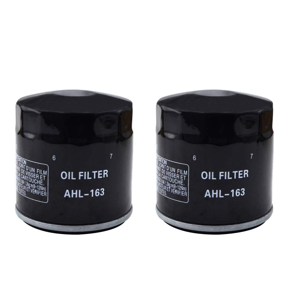 AHL 4 x /Ölfilter Schwarz f/ür K100RS ABS 1000 1988-1989 K1100RS 1100 1990-1995