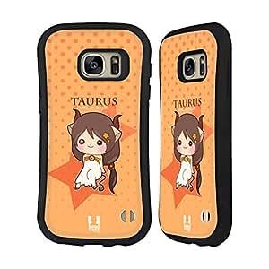 Head Case Designs Taurus Kawaii Zodiac Signs Hybrid Case for Samsung Galaxy Note 3