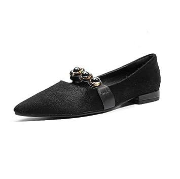 Femmes Pointu Glisser Unique Décontractée Confort Sur Chaussures r8rwB