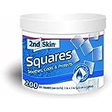 Spenco 2nd Skin Squares, 200 Gel Squares