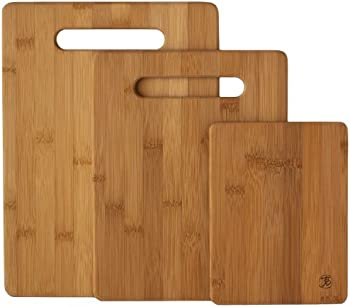 3-Piece Bamboo Serving and Cutting Board Set