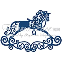 Tattered Lace Rocking Horse Cutting Die D219