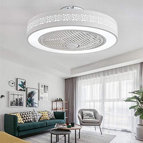 Ventilador De Techo LED Lámpara, Creative 40W Regulable Ventilador ...