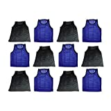 Blue Dot Trading Youth Sports Pinnies 12 High Quality Scrimmage Training Vests