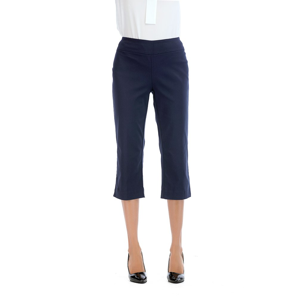 Tracy Evans Womens Ease in to Comfort Straight Leg Boot Cut Skinny Trousers Capri Pants with Tummy Control