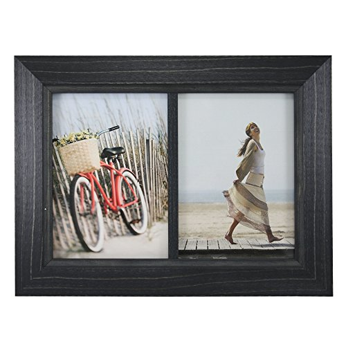 Fetco Home Decor (Fetco Home Decor F54452157D Blanford Classic Wood Photo Frame, 5 x 7