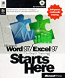 Microsoft Word 97/Excel 97 In-Depth Training Starts Here, Microsoft Official Academic Course Staff, 1572318740