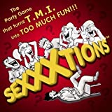 SEXXXtions - ADULT Party Board Game - The Hilarious Party Game that turns TMI about sex into Too Much Fun