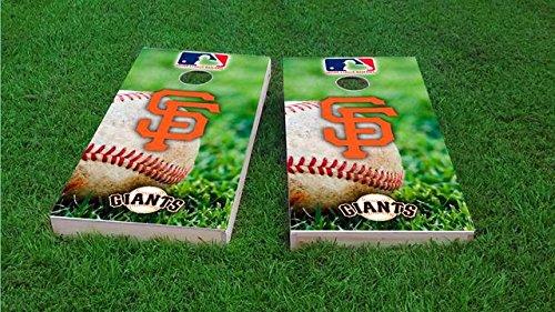 San Giants Bean Francisco Bag (Tailgate Pro's San Francisco Baseball Cornhole Board Set - ACA Regulation Sized - Includes 8 All Weather Bags)