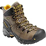 KEEN Utility Men's Pittsburgh Steel Toe Work Boot,Slate Black,14 EE US