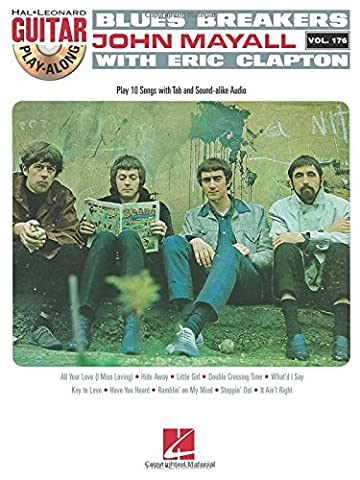 Blues Breakers With John Mayall & Eric Clapton - Guitar Play-Along Vol. 176 - Eric Clapton Songbook