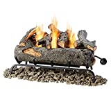 Convert your existing gas or wood-burning fireplace into a Real Flame gel-fueled fireplace and never worry about hauling wood, messy ashes, or soot again! The six-piece realistic log set burns up to three cans of Real Flame gel fuel. Lift ass...