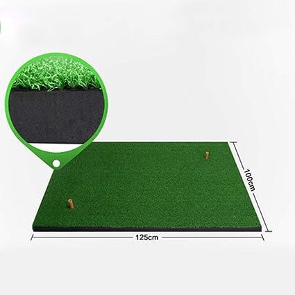 DQMSB Colchonetas de golf Esteras de ejercicios de espesamiento Equipos de entrenamiento para columpios Colchonetas de bolas portátiles familiares (Color : Black-1.5 X 1.5m): Amazon.es: Instrumentos musicales